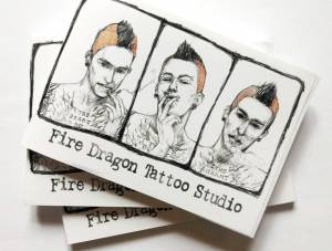 Notes - Fire Dragon Tattoo Studio