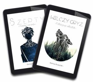 Szepty tom 1 + Wilczy Gryz tom 1 - PAKIET (e-book)